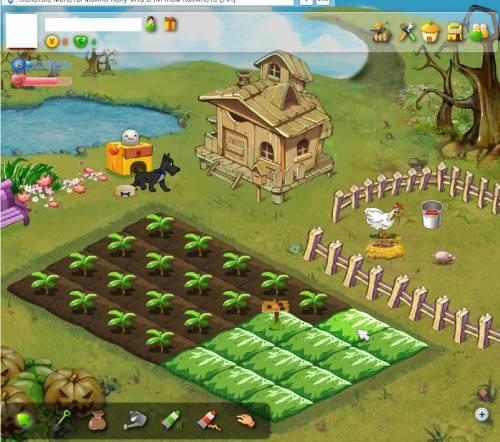 Всеми известная игра в социальной сети вконтакте, майл.ру - Счастливый ферм